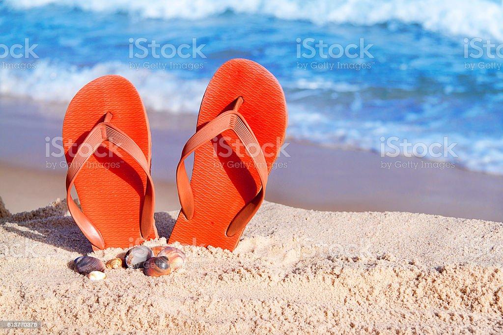 Klapki, Słońce, morze, to lato! – zdjęcie