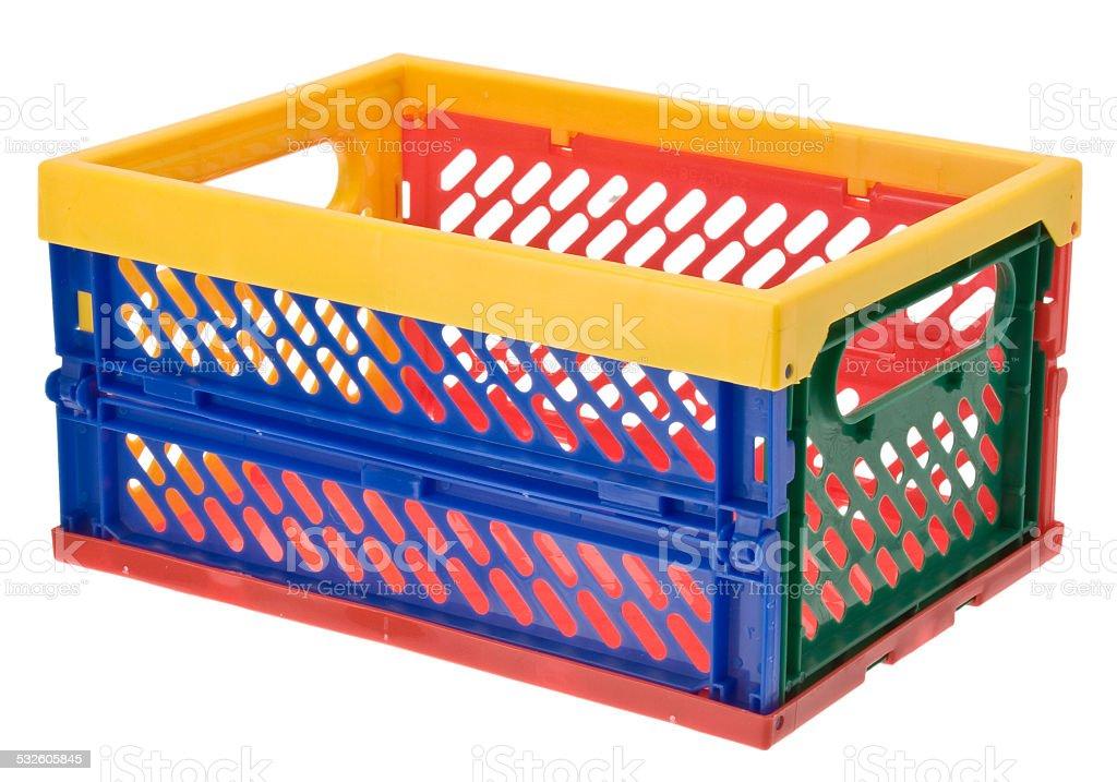 Klappbox / Transportbox stock photo