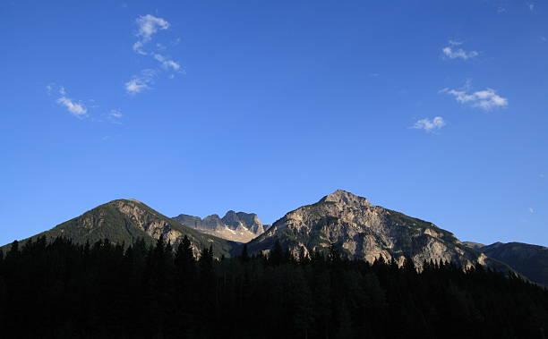 Klapperhorn Mountain stock photo