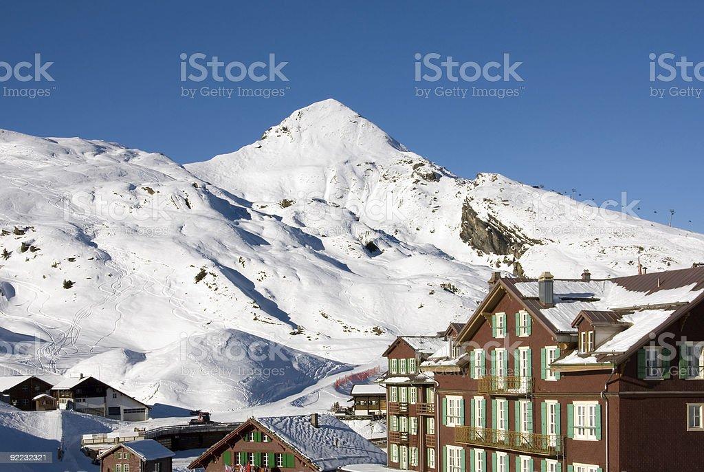 Kleine Scheidegg royalty-free stock photo