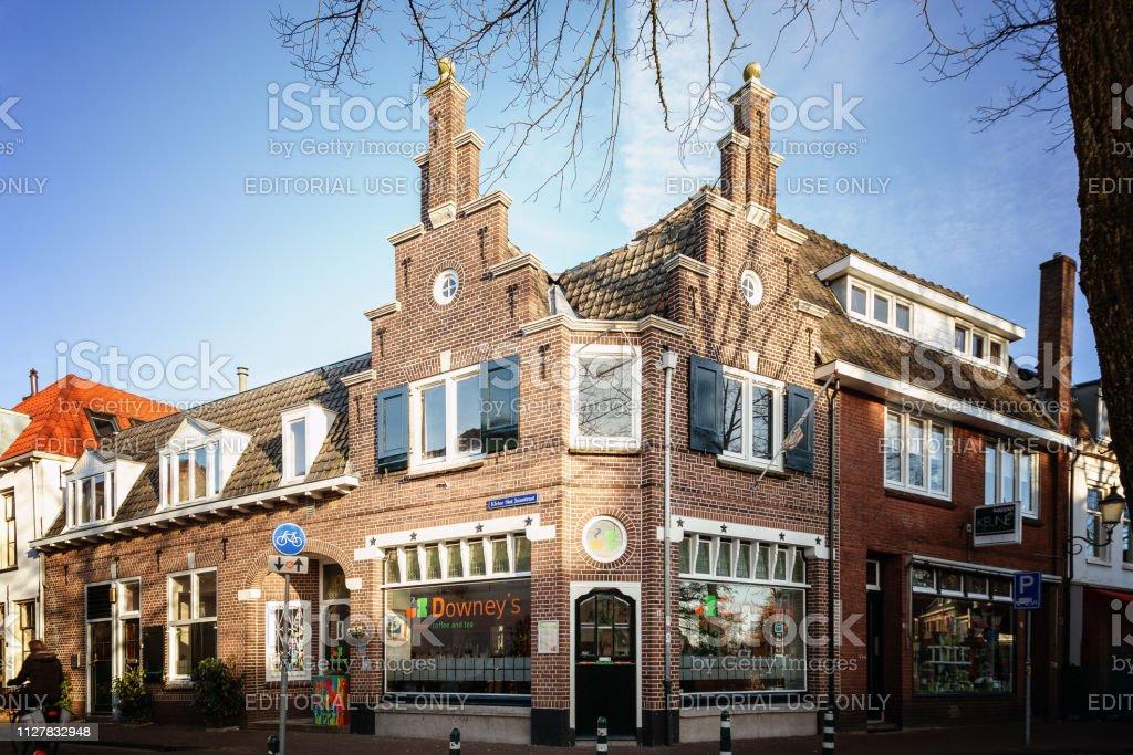 Kleine Sint Jansstraat in Amersfoort, Nederland foto