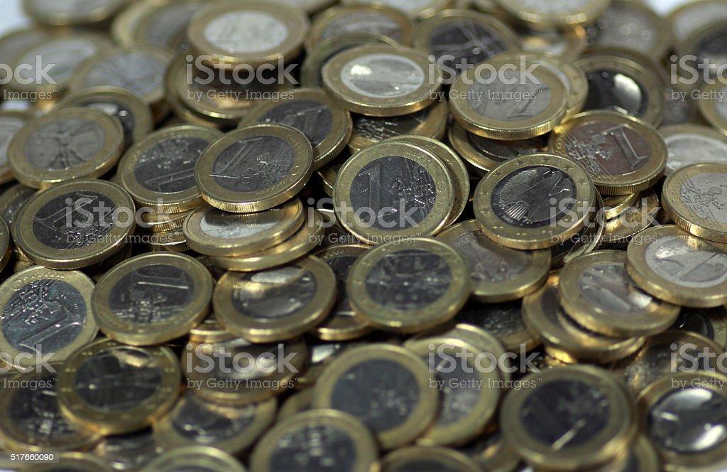 Kleingeld stock photo
