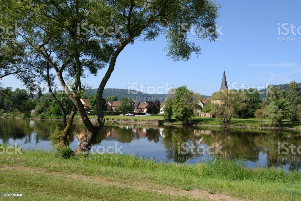 Kleinheubach, Germany stock photo