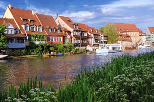 Klein-Venedig (Little Venice) in Bamberg