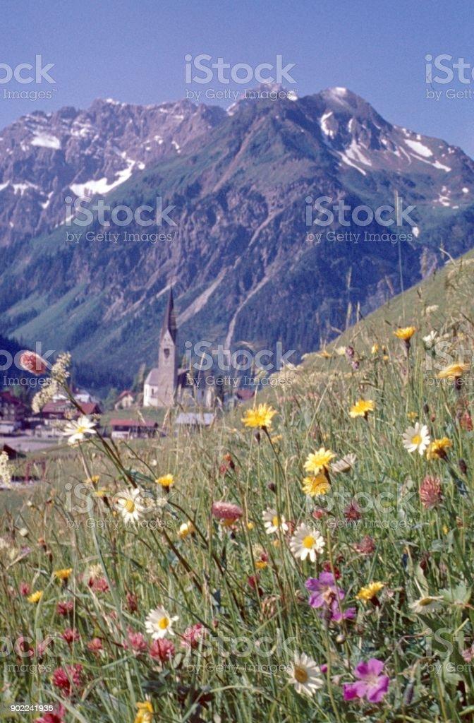 Kleinwalsertal, Austria stock photo