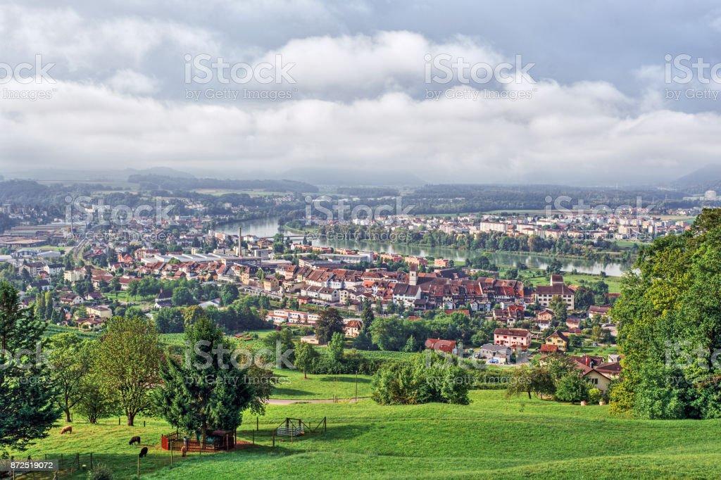 Klingnau stock photo