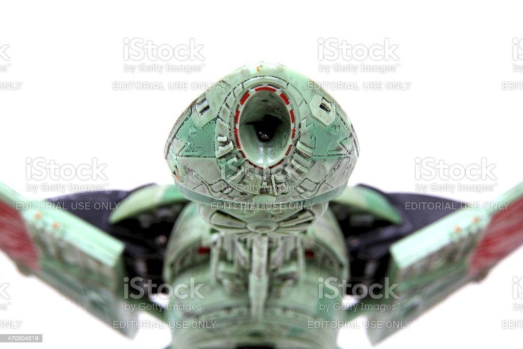 Klingon Launch Bay stock photo