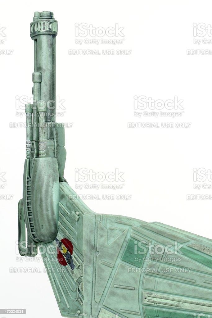 Klingon Weaponry stock photo