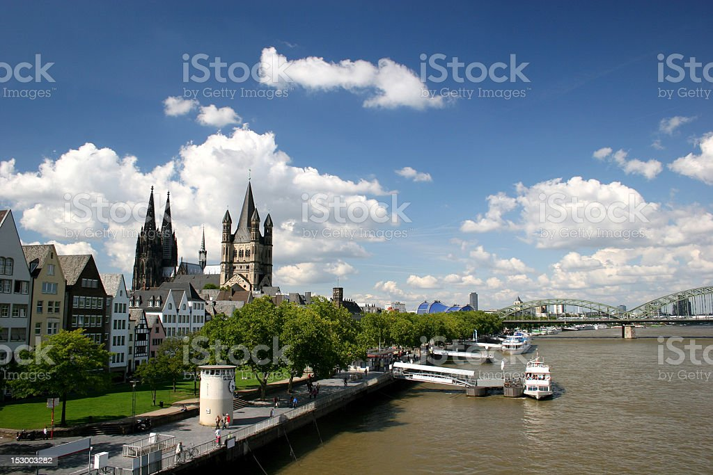 Kölner Dom (Cathedral of Cologne) royalty-free stock photo