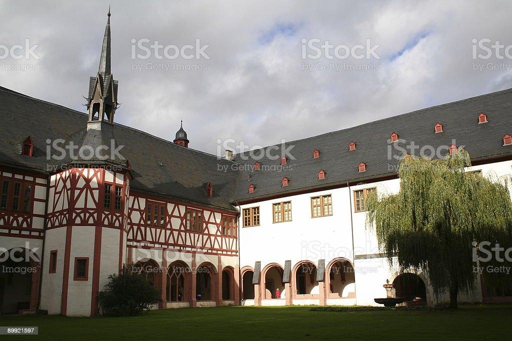 Kloster Eberbach 2 royalty-free stock photo