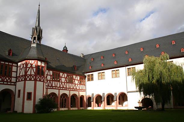 Kloster Eberbach 2 stock photo
