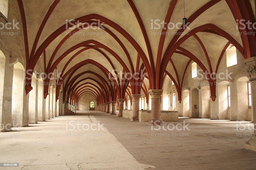 Kloster Eberbach stock photo