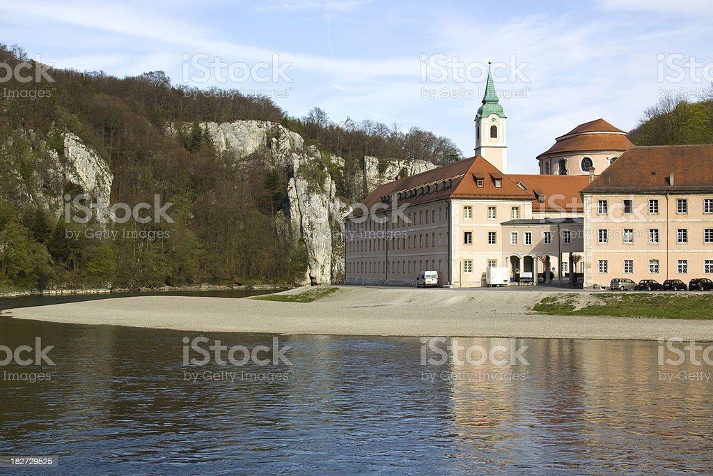 Kloster Weltenburg stock photo