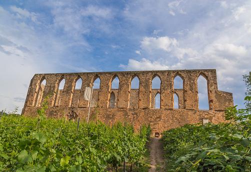 Kloster-Stuben ruin at Bremm on the Moselle