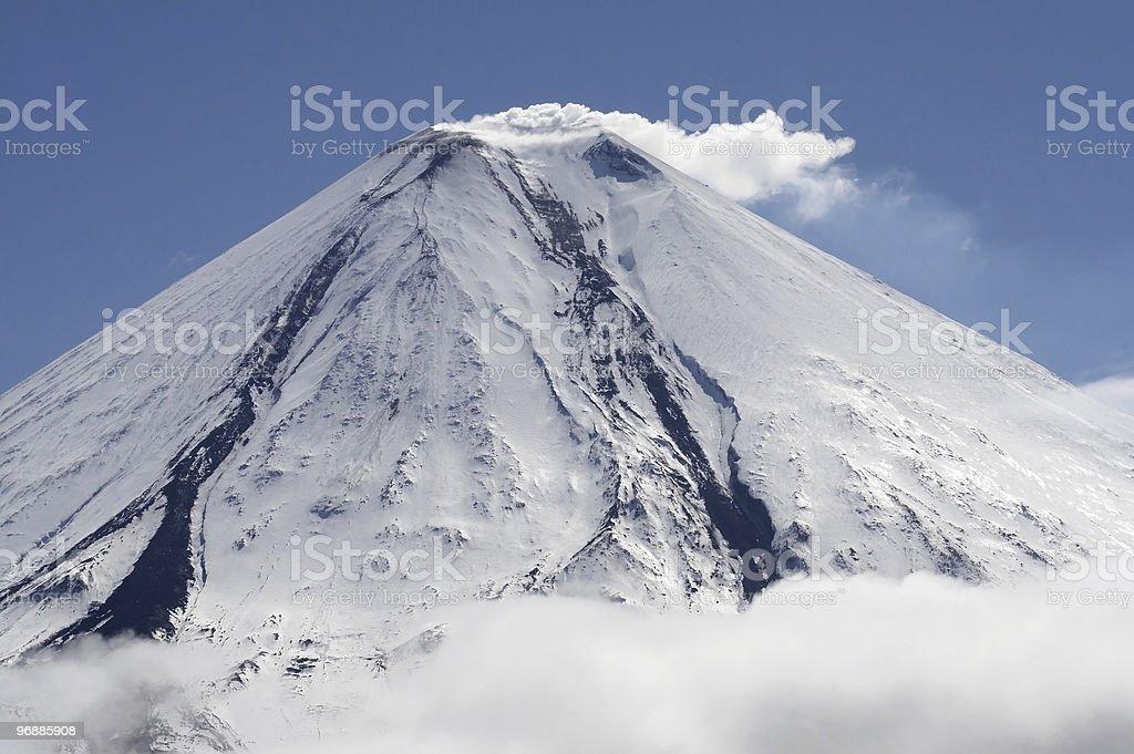 Kluchevskoy Vulkan. Lizenzfreies stock-foto