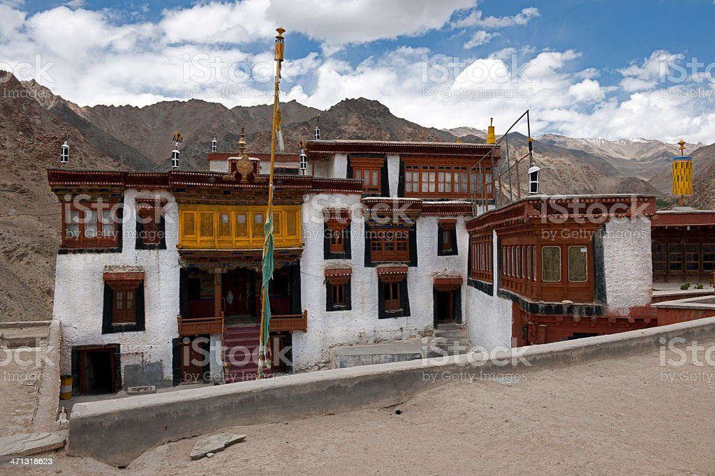 Klu-Kkhyl Monastery Likir Northern India royalty-free stock photo