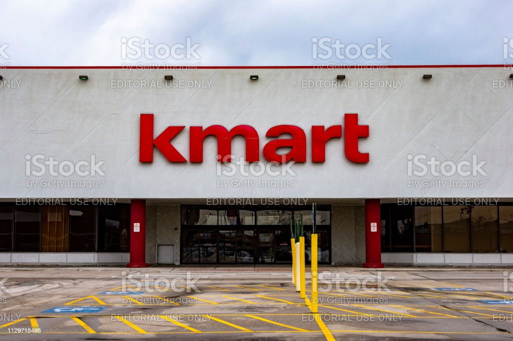 KMart's Closed Doors stock photo
