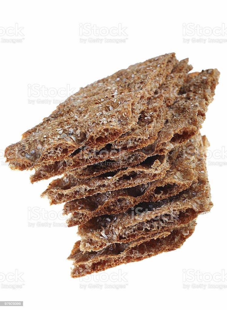Knack bread royalty-free stock photo
