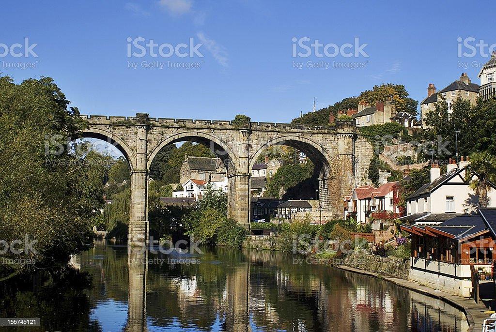 Knaresborough Railway Viaduct royalty-free stock photo