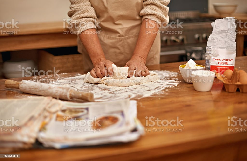 I knead this to work stock photo