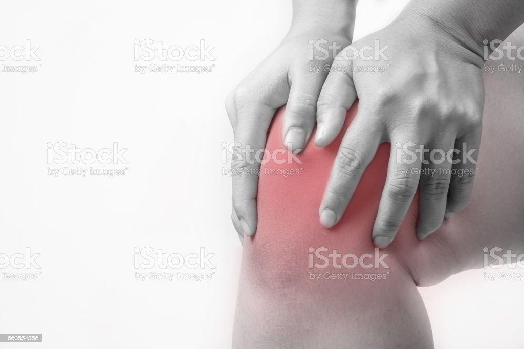 Knieverletzung Menschen Knee Schmerzen Gelenkschmerzen Menschen ...