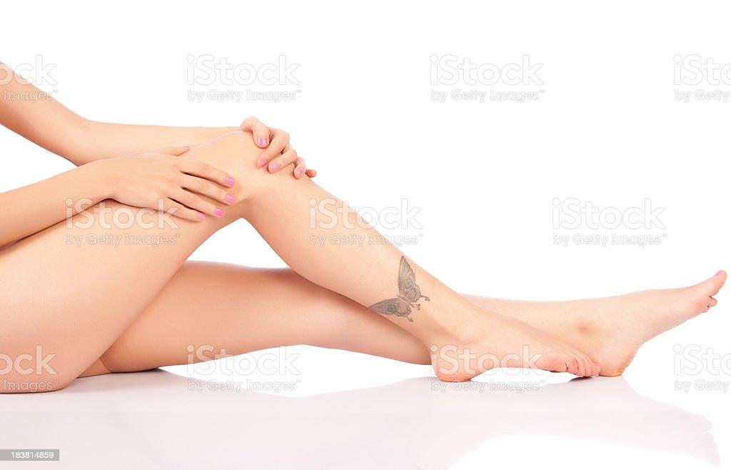 Knee Injury royalty-free stock photo