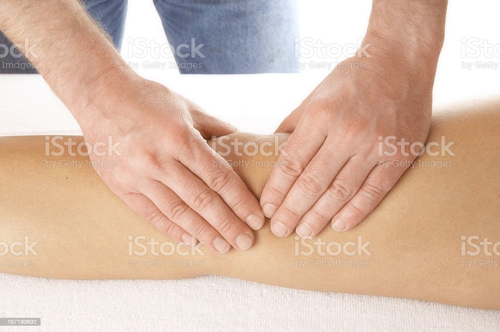 knee observation royalty-free stock photo