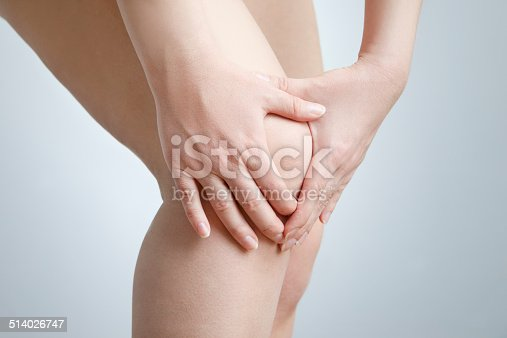 istock Knee pain of the woman 514026747