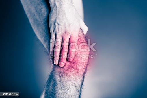 1133511905istockphoto Knee pain, physical injury painful leg 498613732