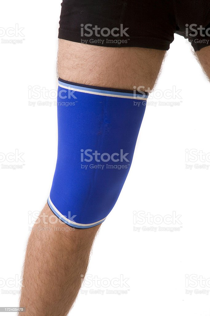knee-guard royalty-free stock photo