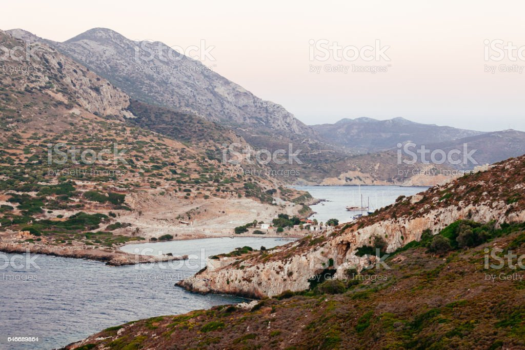 Knidos - Datca, Turkey stock photo