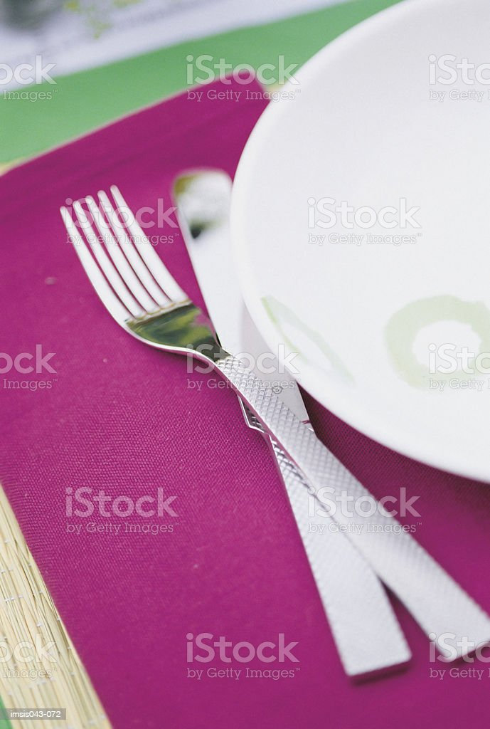 Knife and fork 免版稅 stock photo