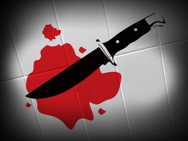 knife crime - knife wound stock photos and pictures