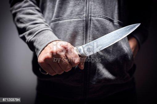 istock Knife crime 871203794
