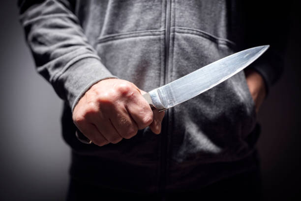 knife crime - killer stock pictures, royalty-free photos & images