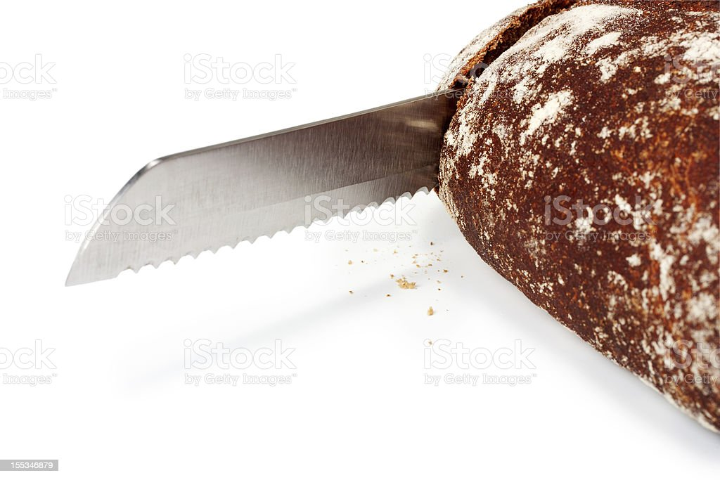 knife for bread royalty-free stock photo