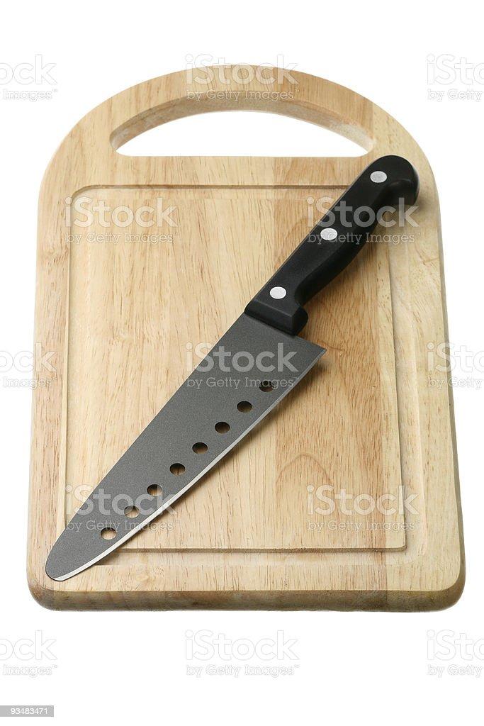 칼 한 breadboard - 로열티 프리 0명 스톡 사진