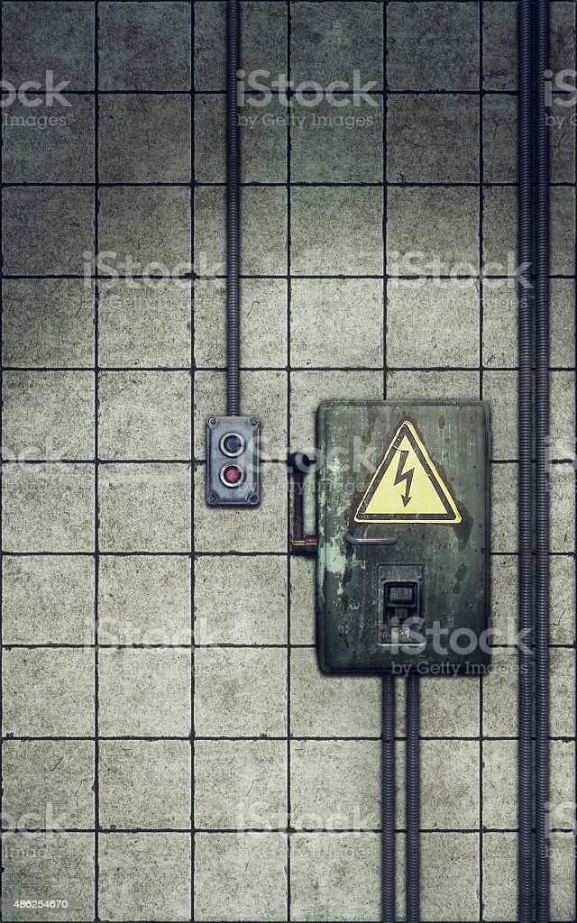 royalty free electrical fuse box pictures, images and stock photos  knife switch on old dirty wall stock photo
