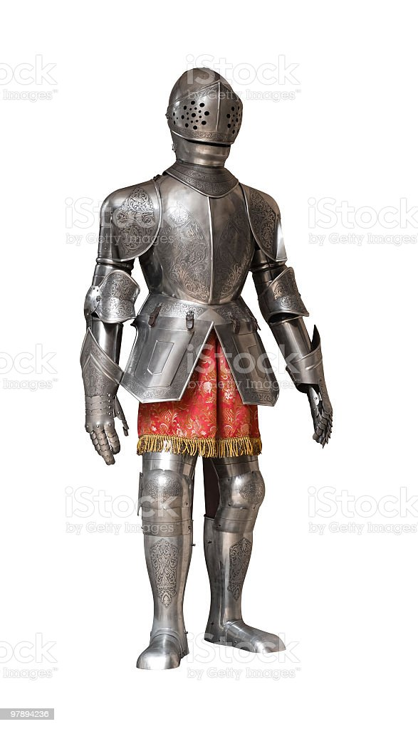 knight armour suit royalty-free stock photo