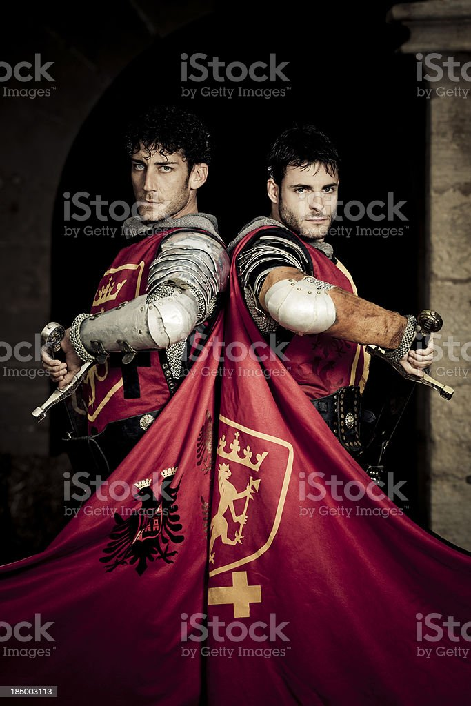 knight brothers stock photo
