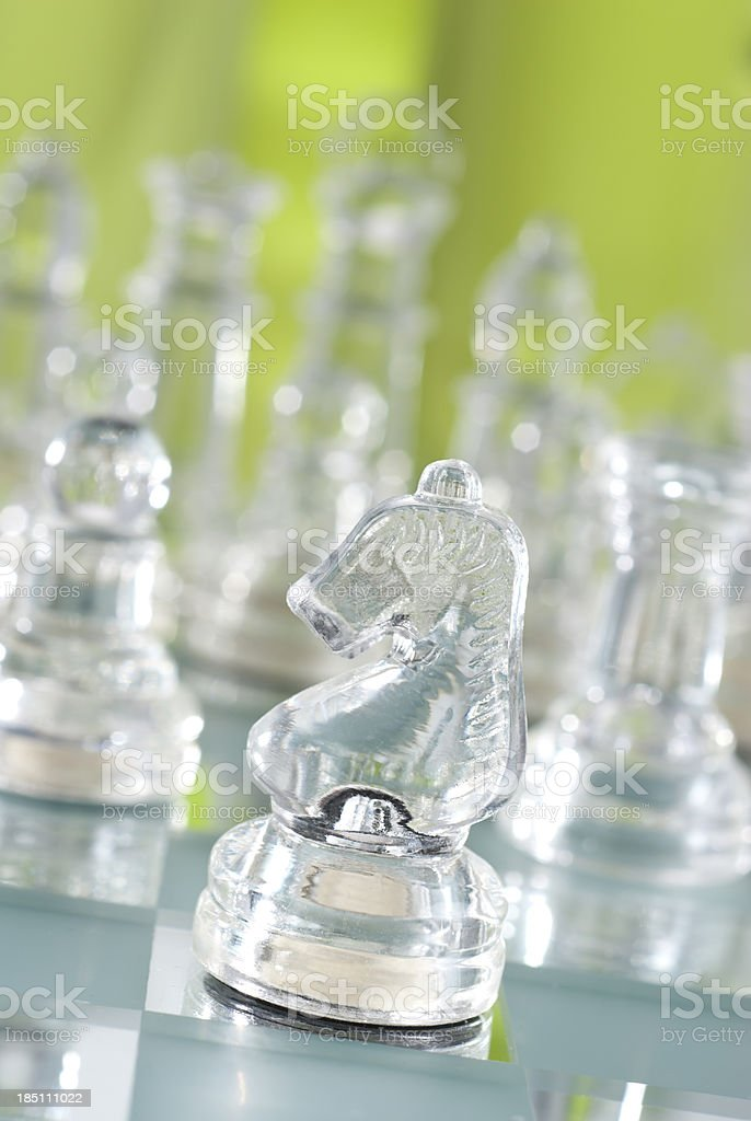 Knight Chess stock photo