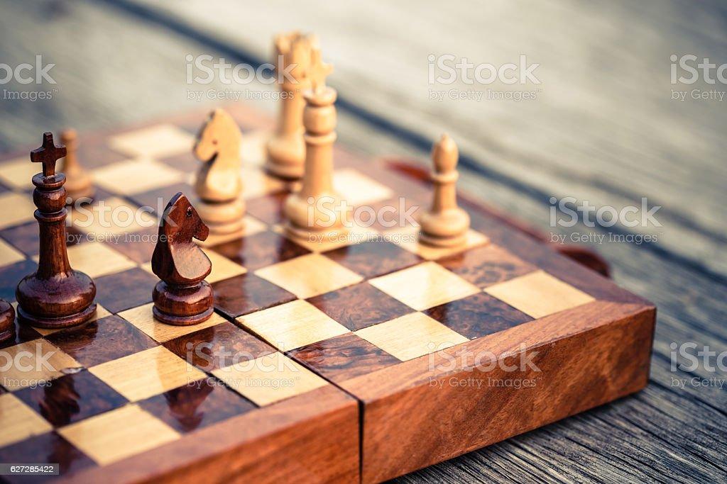 Knight Schach – Foto