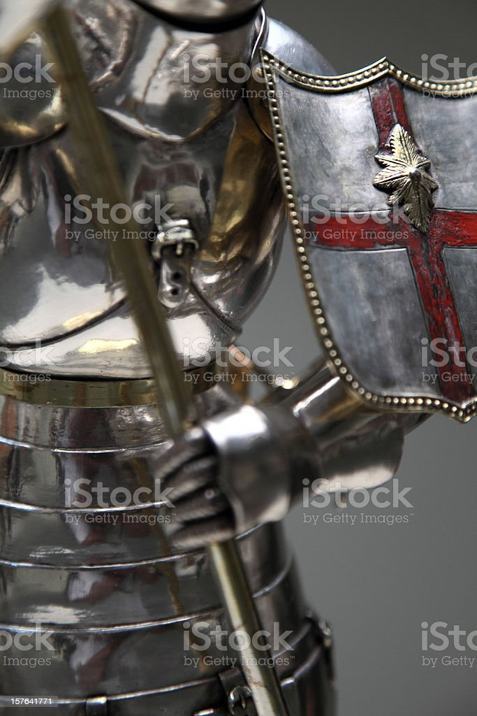 Knight detail stock photo