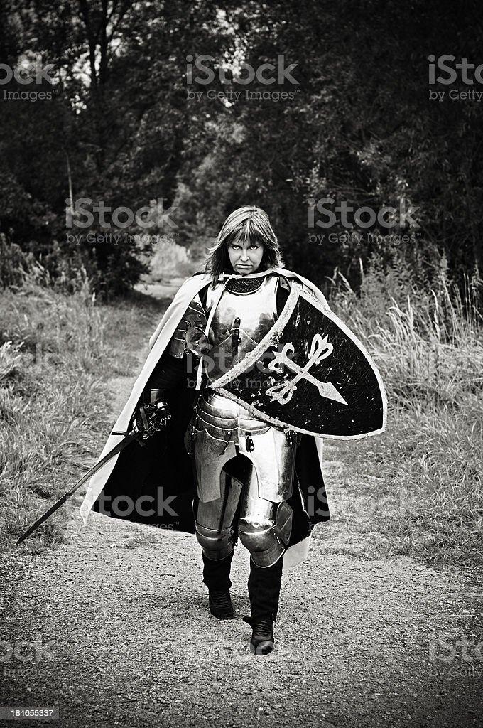 Knight of Santiago stock photo