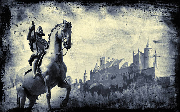 knight - knight on horse stock photos and pictures