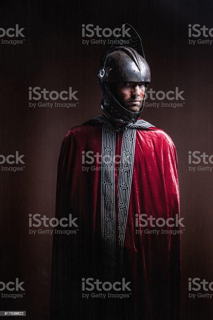 Knight stock photo