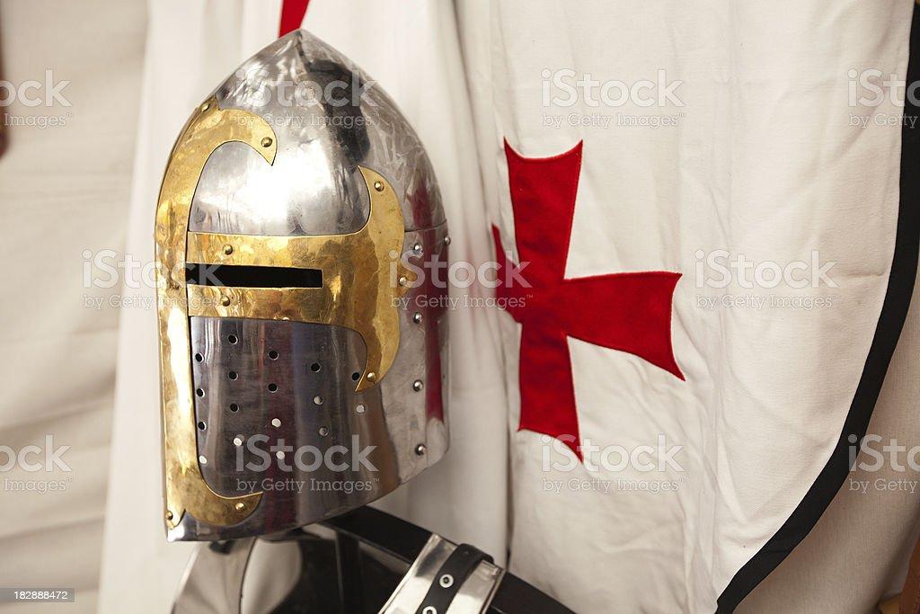 Knight Templar stock photo