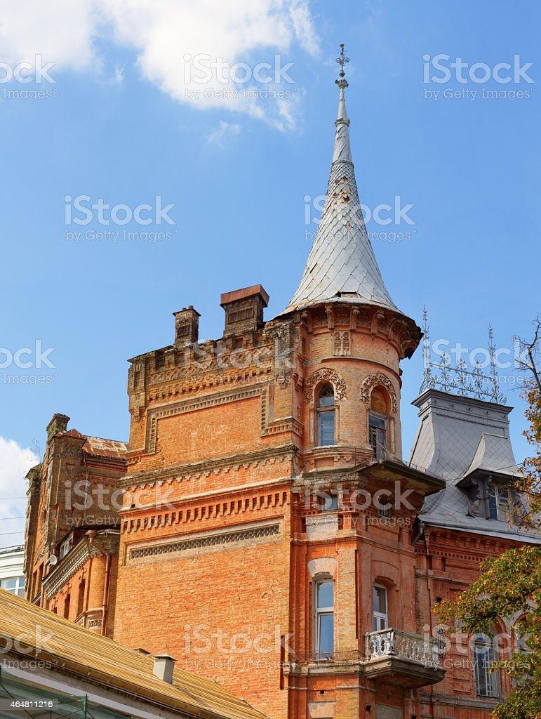 Knight's castle stock photo