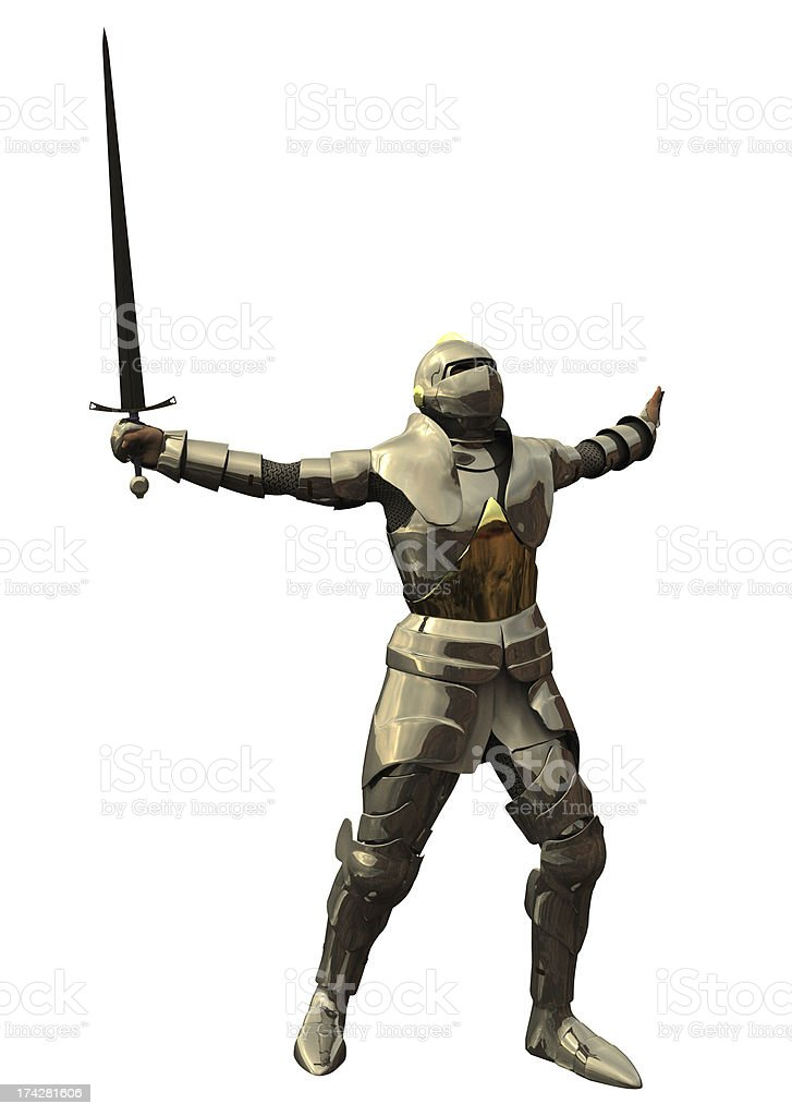 Knight's Challenge royalty-free stock photo