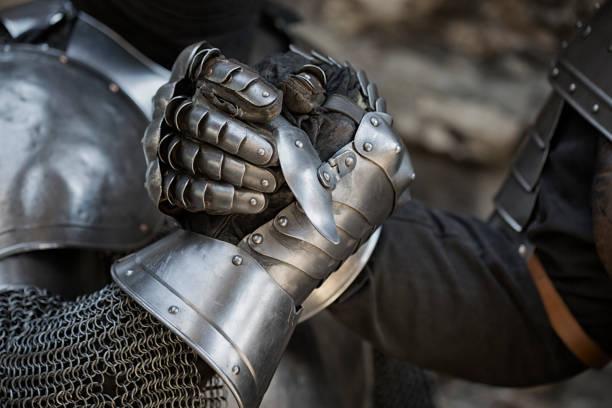 knights - mittelalterliche ritter stock-fotos und bilder